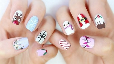 50 Cute and Festive Christmas Nail Design You Should to See 02