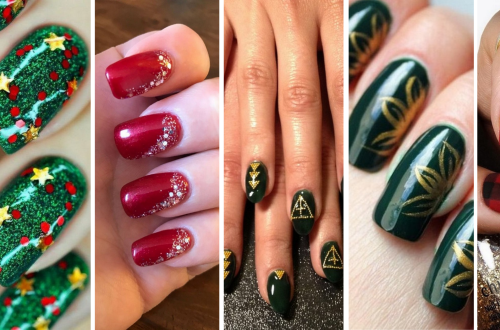 50 Cute and Festive Christmas Nail Design You Should to See 56