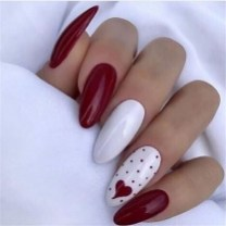 50 Nail Art Ideas for Valentines Day You Need to See 29