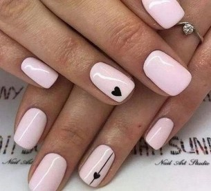 50 Nail Art Ideas for Valentines Day You Need to See 33
