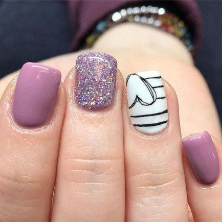 50 Nail Art Ideas for Valentines Day You Need to See 38