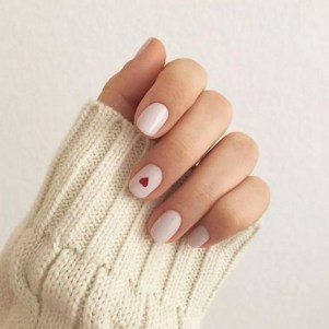 50 Nail Art Ideas for Valentines Day You Need to See 52