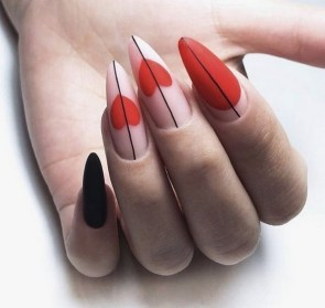 50 Nail Art Ideas for Valentines Day You Need to See 53