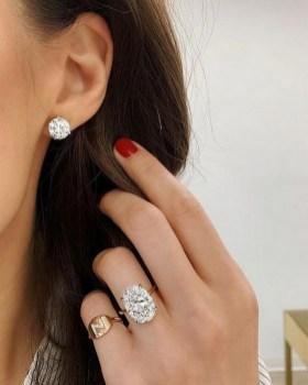 50 Stud Earring for Wedding Brides Ideas 01
