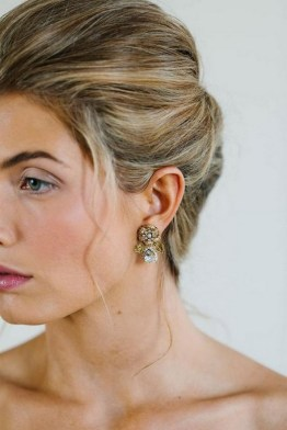 50 Stud Earring for Wedding Brides Ideas 07