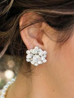 50 Stud Earring for Wedding Brides Ideas 11