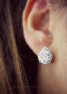 50 Stud Earring for Wedding Brides Ideas 20
