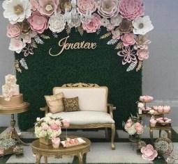 50 Stunning Paper Flower Decoration for Wedding Ideas 16