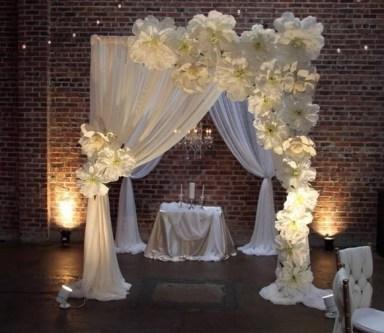 50 Stunning Paper Flower Decoration for Wedding Ideas 45