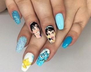 60 Disney Themed Nail Art Ideas 01