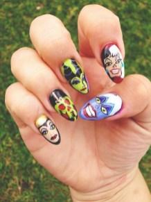 60 Disney Themed Nail Art Ideas 09