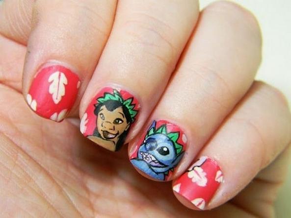 60 Disney Themed Nail Art Ideas 13