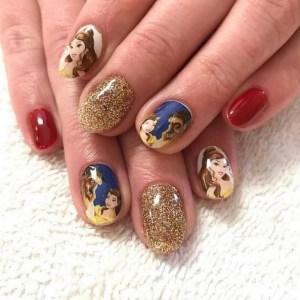 60 Disney Themed Nail Art Ideas 21