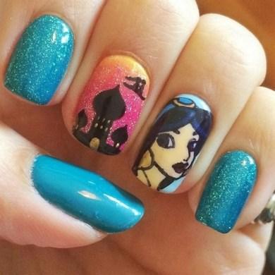 60 Disney Themed Nail Art Ideas 31