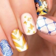 60 Disney Themed Nail Art Ideas 37