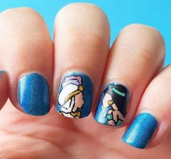 60 Disney Themed Nail Art Ideas 42