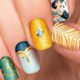 60 Disney Themed Nail Art Ideas 50