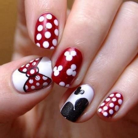 60 Disney Themed Nail Art Ideas 52