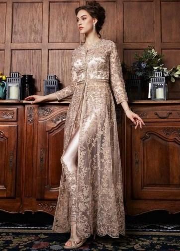 60 Gold Glam Wedding Dresses Inspiration 31