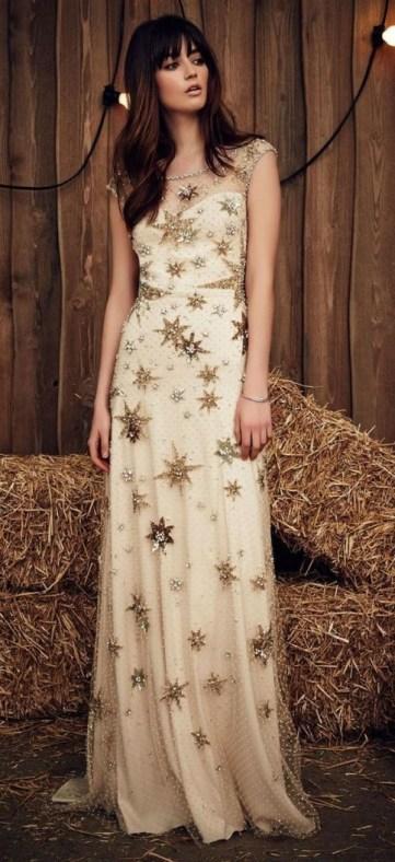 60 Gold Glam Wedding Dresses Inspiration 38