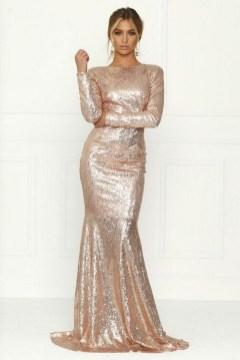 60 Gold Glam Wedding Dresses Inspiration 55