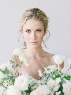 60 Inspiring Natural Bridal Look 08