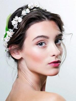 60 Inspiring Natural Bridal Look 40