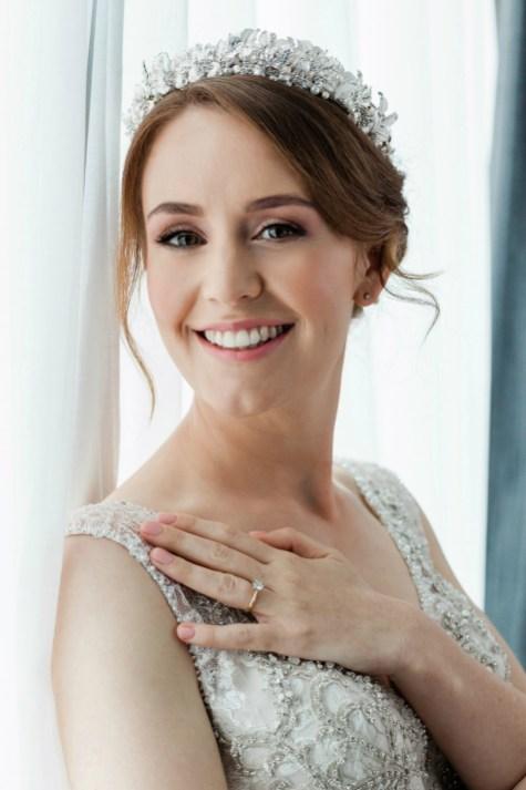 60 Inspiring Natural Bridal Look 45