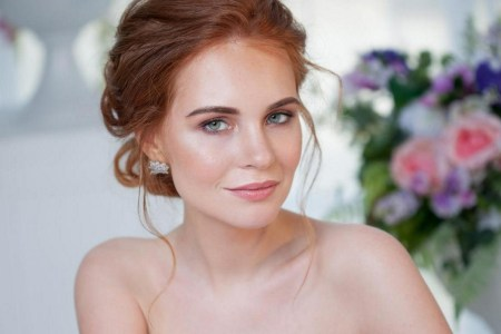 60 Inspiring Natural Bridal Look 50
