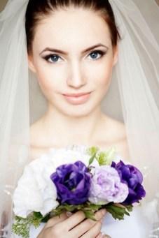 60 Inspiring Natural Bridal Look 52