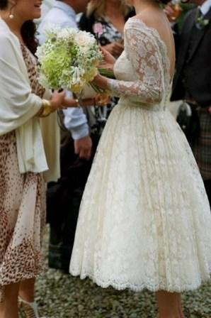 60 Simple Vintage Wedding Dress Ideas 19