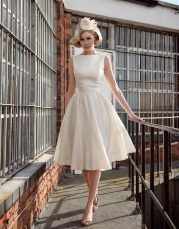 60 Simple Vintage Wedding Dress Ideas 20