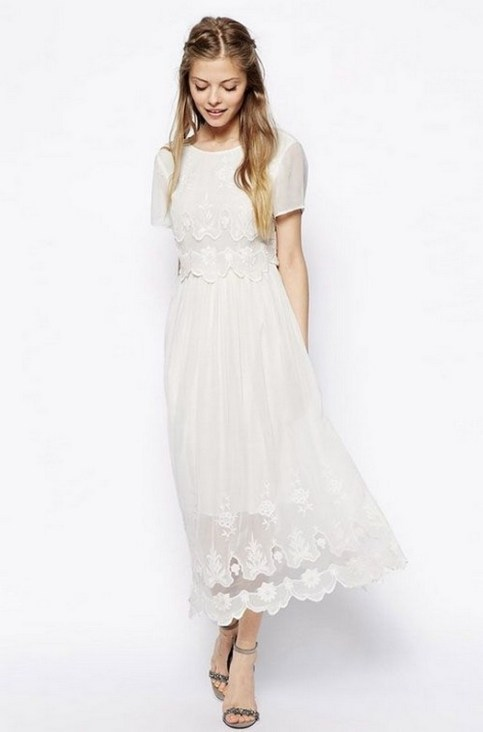 60 Simple Vintage Wedding Dress Ideas 26