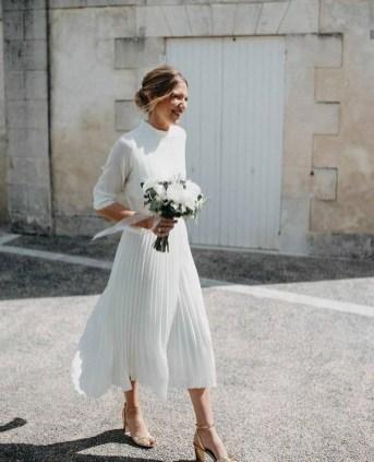 60 Simple Vintage Wedding Dress Ideas 45