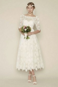 60 Simple Vintage Wedding Dress Ideas 50