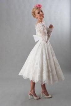60 Simple Vintage Wedding Dress Ideas 52
