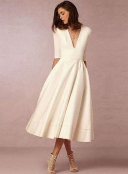 60 Simple Vintage Wedding Dress Ideas 53