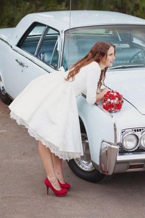 60 Simple Vintage Wedding Dress Ideas 58