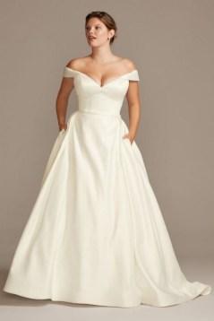 70 Elegant Ball Gown Wedding Dresses For Plus Size 22