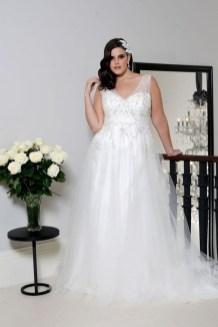 70 Elegant Ball Gown Wedding Dresses For Plus Size 34