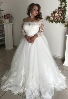 70 Elegant Ball Gown Wedding Dresses For Plus Size 35