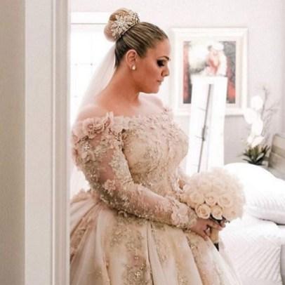 70 Elegant Ball Gown Wedding Dresses For Plus Size 44