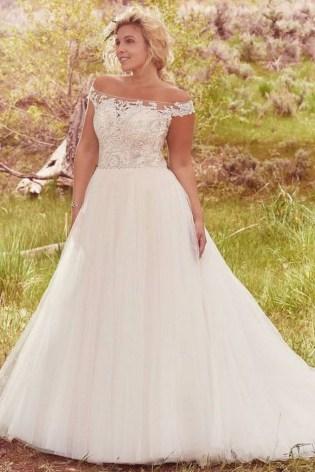 70 Elegant Ball Gown Wedding Dresses For Plus Size 52