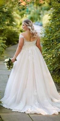 70 Elegant Ball Gown Wedding Dresses For Plus Size 56