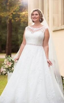 70 Elegant Ball Gown Wedding Dresses For Plus Size 63