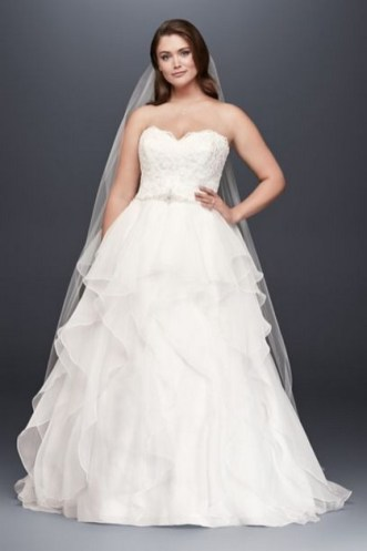 70 Elegant Ball Gown Wedding Dresses For Plus Size 65