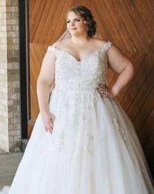 70 Elegant Ball Gown Wedding Dresses For Plus Size 67