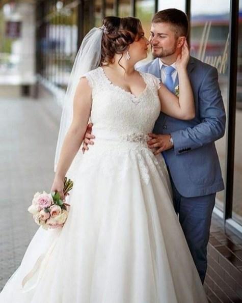70 Elegant Ball Gown Wedding Dresses For Plus Size 71