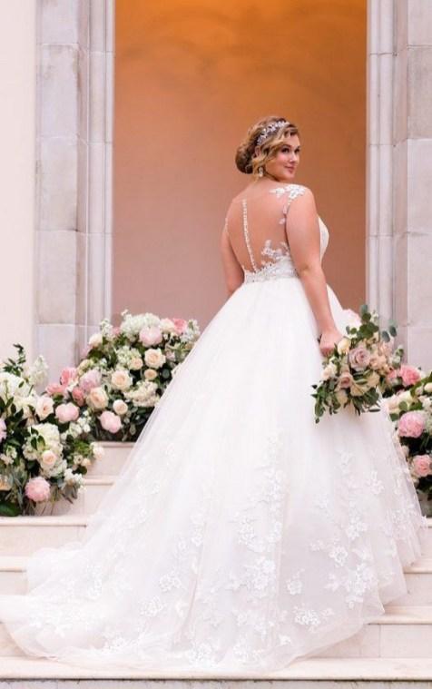 70 Elegant Ball Gown Wedding Dresses For Plus Size 74