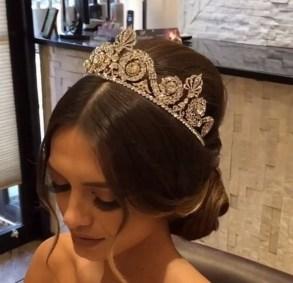70 Elegant Bridal Crown Wedding Ideas 3